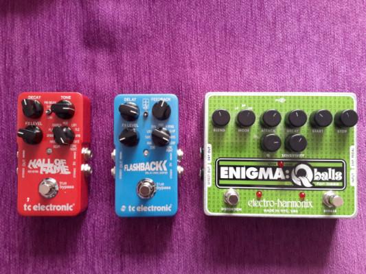 Vendo EHX Enigma Qballs.