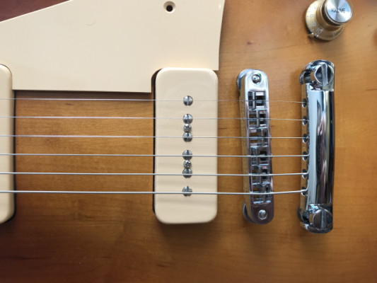Cambio Gibson P90 soapboard por Minihumbucker