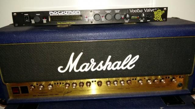 Marshall 30 aniversario, cabezal + pantalla