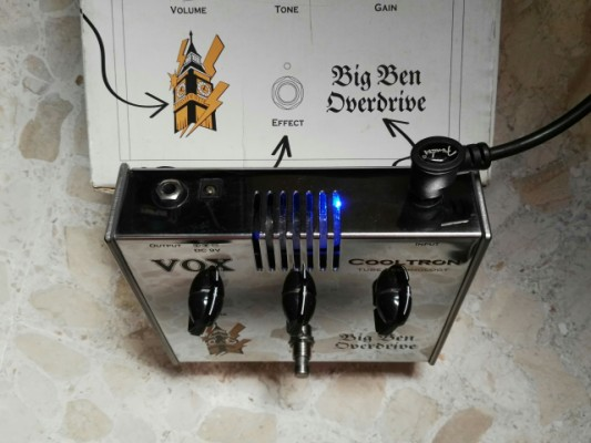 PEDAL VOX OVERDRIVE BIG BEN COOLTRON (VALVULA)