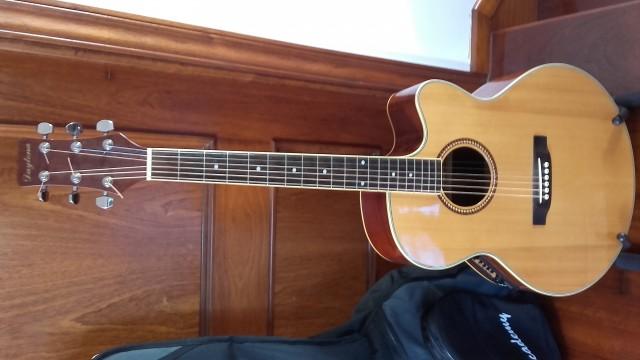 Vendo guitarra electroacustica Daytona
