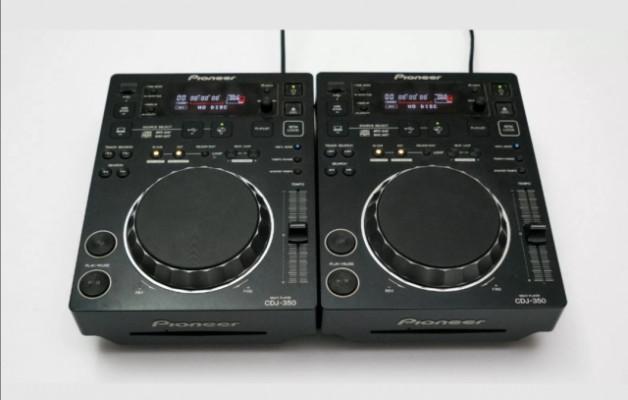 2x Pioneer cdj 350 sin usar