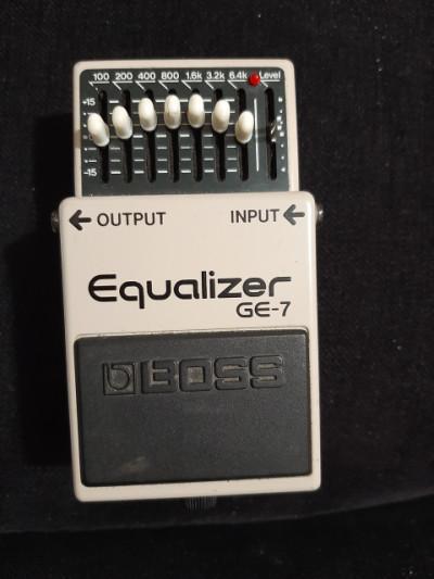Boss GE-7 ecualizador made in Japan