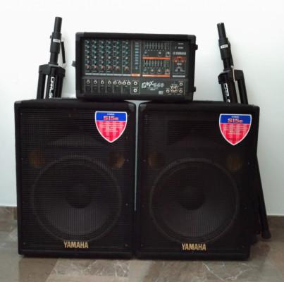 Se vende Equipo de sonido EMX 660 completo