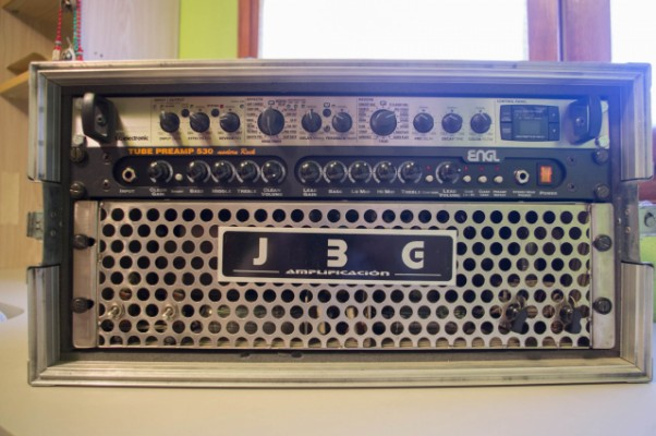 Vendo amplificador a válvulas en rack Engl y JBG