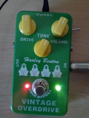 HB VintageOverdrive mod EMG power supply