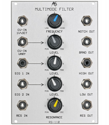 Analogue Systems RS-110 Multimode Filter (Dual Bus)