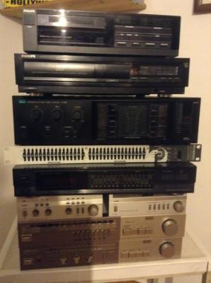 Conjunto de equipamentos Hi-Fi