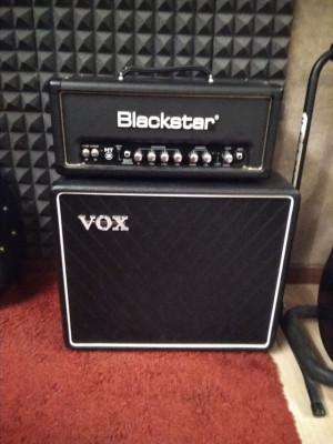 Blackstar Ht5 + Vox BC112 Cabinet