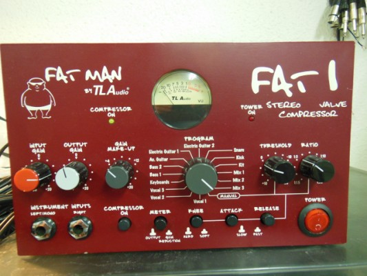 TLA FATMAN 1 Stereo Valve Compressor