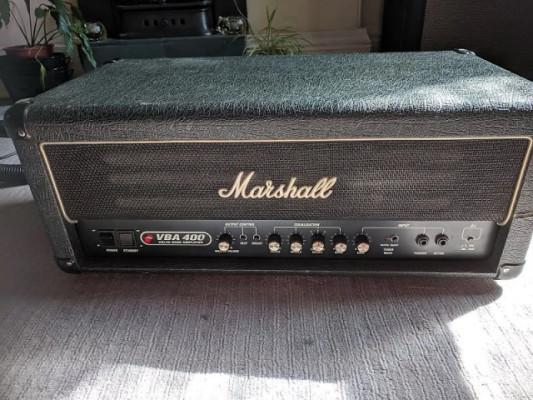 Marshall VBA400 - 400 watt valvulas - ampli de bajo