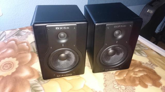 Pareja de monitores M-Audio Bx5a