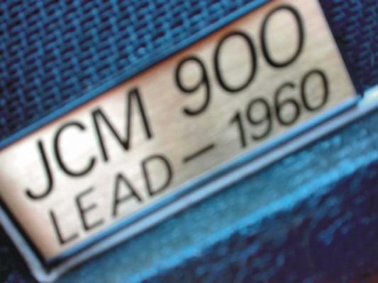 PANTALLA MARSHALL JCM900 LEAD 1960A  (inclinada) de 1993.