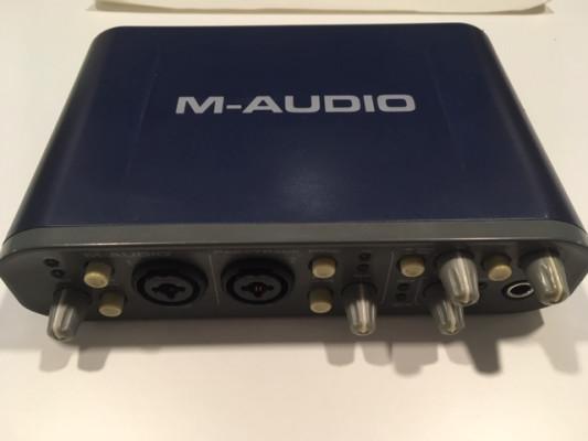 Interfaz M-AUDIO Fast Track Pro