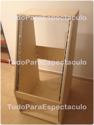 Pack Mueble de Estudio y Rack
