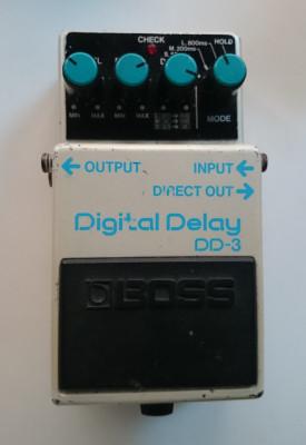 Cambio Delay Boss DD3 blue label Japan
