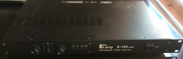 the t.amp the t.amp S-100 MK II