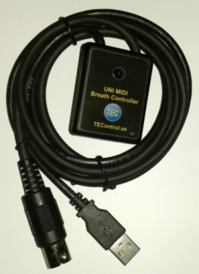 Breath controller midi/usb sin usar