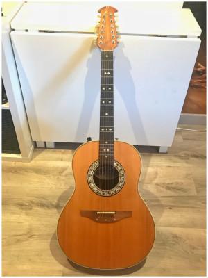 Guitarra Acústica Ovation 12 cuerdas. Mod: Custom Balladeer 1655