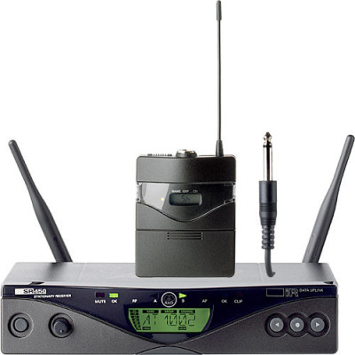 Inalambrico Instrumento Pro AKG WMS450