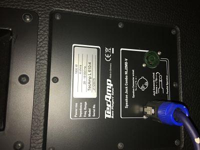 TecAmp Puma 500 y pantalla L610-4