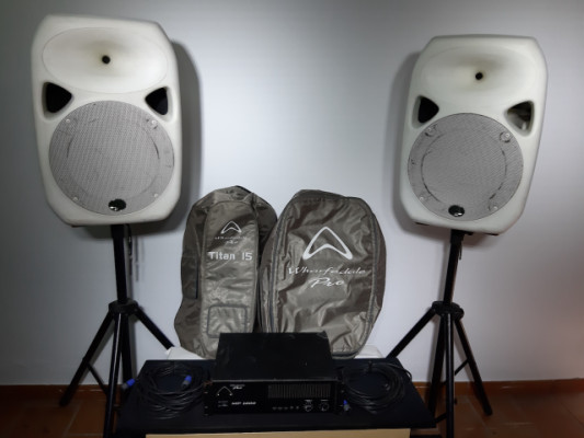 Equipo de Sonido Whaferdale 1000 W