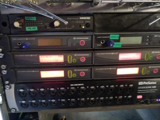 4Micrófonos inalámbrico Sennheiser EW300 G2