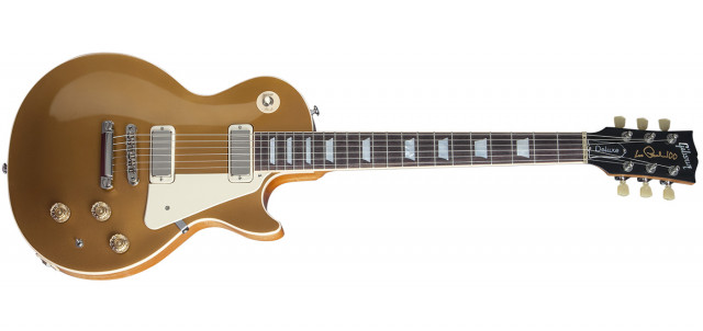 Compro gibson  lp deluxe 2015 gold top.