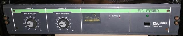 EQUIPO DIRECTO ECLER 150+150 RMS