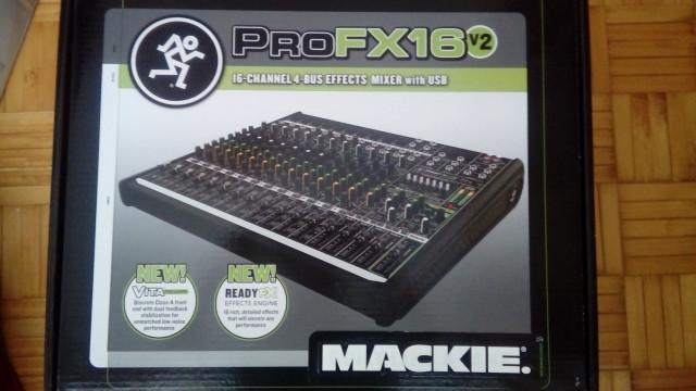 Mesa Mackie pro fx 16