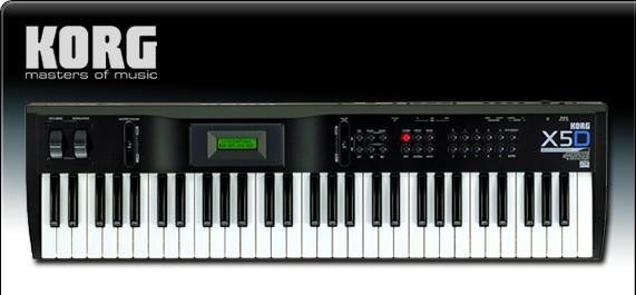 Sintetizador Korg X5D