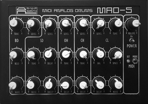 AVP Synth MAD-5