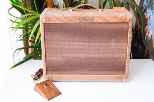 Fender Vibrolux 1960 Tweed Vintage Amplificador Valvulas Original