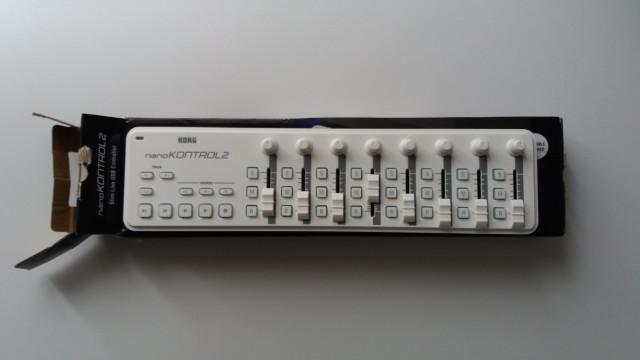 Korg NanoKontrol 2 Blanco