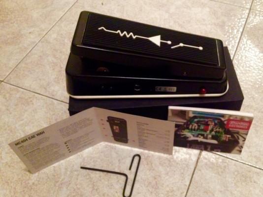 Wah Custom Audio Electronics MC404 (Dunlop). NO CAMBIOS