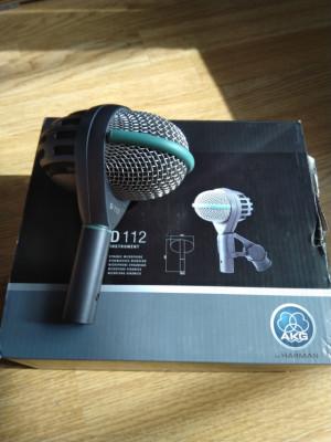 Microfono Akg d112 + soporte especial bombo