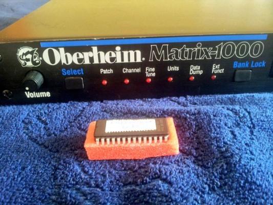 Nueva actualización Oberheim Matrix 1000 V 1.20