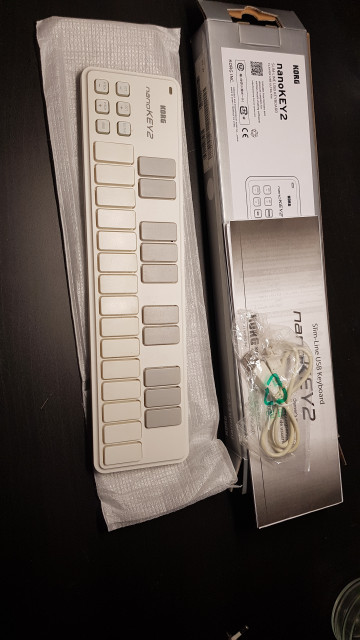 Korg nanoKey 2 blanco
