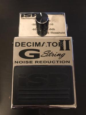 ISP Decimator 2 G string - puerta de ruido
