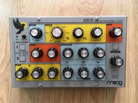 Sintetizador Moog Sirin edición limitada