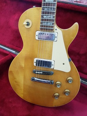 Gibson Les Paul Deluxe Natural 1976
