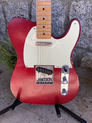 Fender Road Worn '50s Telecaster Candy Apple Red