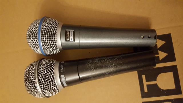 lote de microfonos shure y ld