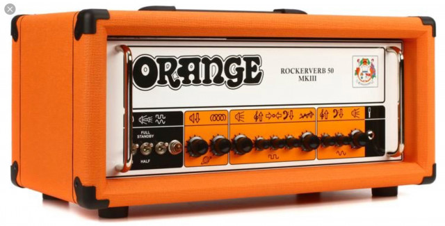"Vendo Orange Rockerverb 50 mkiii ""rebajas de Enero"""