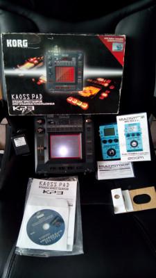 Pack kaoss pad 3 y zoom ms70cdr