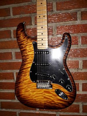 Fender Exótic  Mahogany American Pro Strat Violin Burst