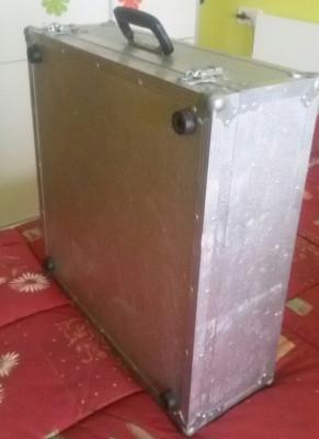 maleta de aluminio