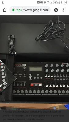 Sintetizador Elektron analog four