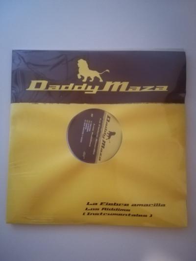 Vinilo hip hop daddy maza fiebre amarilla instrumentales
