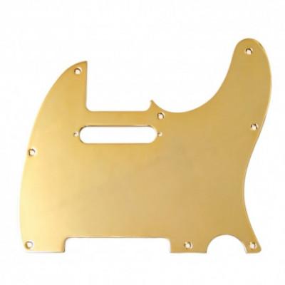 Golpeador telecaster (8 agujeros) dorado, plateado, Chrome...